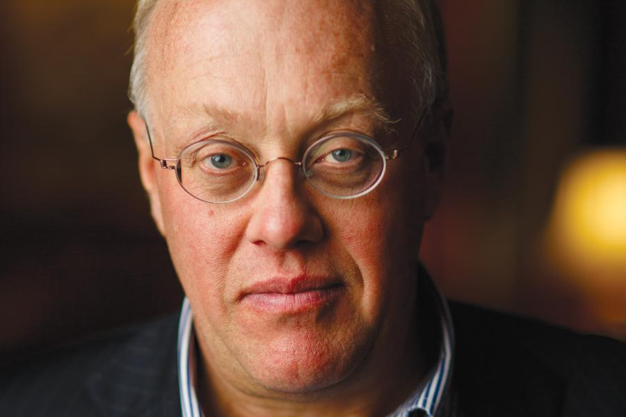 chris hedges portrait